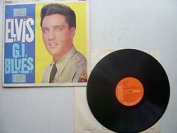 Elvis Presley G I Blues Original 1970s Pressing Including Sleeve